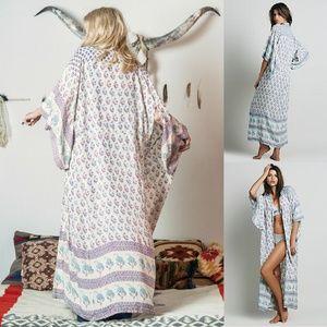 Spell & The Gypsy Collective Intimates & Sleepwear - Spell designs bohemian royale kimono dusk gypsy OS